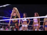 WWE Raw 5-23-11 - Beth, Eve, Gail Kim &amp Kelly vs Maryse, Melina &amp The Bellas w Kharma Segment